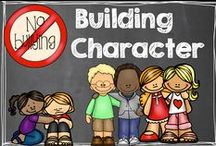 Building Character in Kids / Teaching children to treat each other (and themselves) with kindness and respect. / by Hilary Lewis - Rockin' Teacher Materials