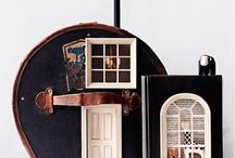 Doll House! / Ideas, inspiration and tutorials for doll houses and doll house furniture and furnishings. Miniature stuff for kids!