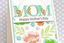 Handmade Cards / Inspiration for card design.