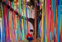 Outdoor Spaces for Kids / Inspirational ideas for outdoor play spaces for kids.