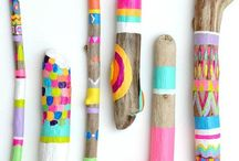 Twiggy / All sorts of things to do and make with sticks and twigs!