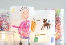 Kids crafts / by Eva