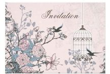 Pink Wedding Invitations / Lovely pink wedding invitations , pink save the dates  pink stationery, #pink #pinkwedding #weddings #invitations #savethedate