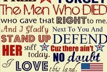 All American / Damn Proud To Be! / by Megan Hardman🎭