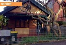 Renovation - Before & After Photos - Marrickville, Sydney / A quick cosmetic makeover of an Inner West facade.