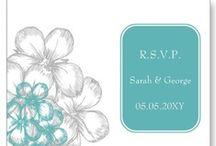 Aqua Wedding Invitation Set / Lovely Aqua wedding invitations, Aqua save the date, Aqua stationery, #Aqua #Aquawedding #weddings #invitations #savethedate
