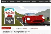 The Little Red Racing Car / The Little Red Racing Car is a children's picture book written and illustrated by me, Dwight Knowlton. This board is some of my design and exploration on the way to a finished product. Be a part of the conversation: www.theLittleRedRacingCar.com