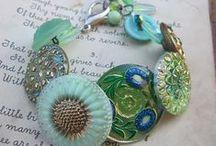 crochet jewelry, cuffs / by Diane Sherman