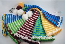 crochet hats, head bands, mitts / by Diane Sherman
