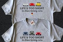 Tshirt / A collection of the best t-shirt designs on Pinterest. Many automotive. Some by me.