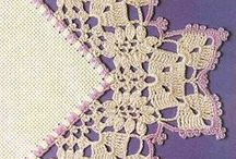 crochet edging insertion / by Diane Sherman
