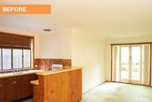 Renovation - Before & After Photos - Clovelly, Sydney / A cosmetic overhaul by Cherie Barber of a 1960's apartment