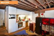 Renovation - Before & After Photos - Chippendale, Sydney / A funky internal renovation on an inner city studio apartment by Cherie Barber.