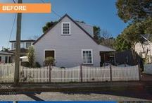 Renovation - Before & After Photos - Carrington, NSW / An external renovation by Cherie Barber
