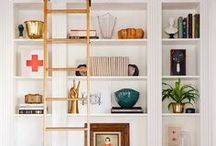 Display and Storage - Design and Inspiration / Great ways to display stuff  and amazing storage solutions! Think shelves, cabinets, drawers, baskets