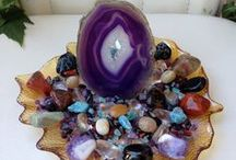 Gemstones & Crystals / Earths hidden gems are both beautiful and beneficial.