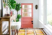 Foyers, Entrance Halls, Cloak Rooms, Entry Ways and Staircases... / Inspiration for your Entrance ways, entry way, foyer, hallway, welcome area, stairs, staircases and porch