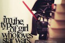 A Galaxy Far Far Away / Star Wars / by Samantha Reeves