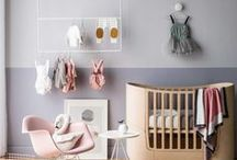 Styling for Babies and Little Children / Inspiration for styling children friendly areas in your home - anything and everything for kids styling, both boys and girls, colourful and minimal kids spaces, nurseries and play areas