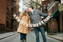 CHRISTMAS INSPIRATION / Winter Weddings, Engagement Sessions with a Theme and Christmas Card ideas for your Photos!