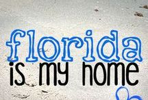 My Florida / While I may be from Oklahoma, Florida is my home and I love it here!