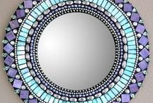 Mosaic is beautiful / I am fascinated with all things Mosaic! This board is of cool products or DIYs.