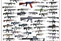 Rifles and other guns