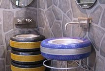 Repurpose Old Tires / by Tammy Lynn Chester
