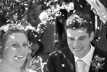 Black & White Wedding