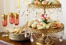 High Tea  - Sweet Treats / Little cakes and cup cakes, china and cutlery - anything to do with dainty entertaining