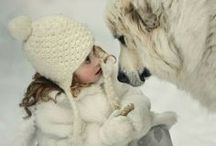 Hugs and Kisses - pet parade / humans and animals alike share their love