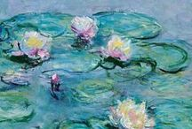 Artist - Claude Monet / I love Monet's work, especially the brighter paintings