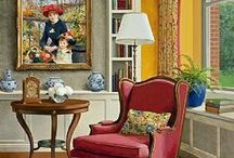 Artful Rooms / Paintings of rooms - old and new