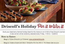 Driscoll's Pin It to Win It / by Heta Shah