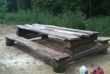 picnic table / by Tricia Tegtmeyer