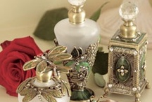 Bouteilles de parfum  / Collection of beautiful perfume bottles / by Dara Inman