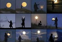 """MOON   SHINE / """"  By the light of the silvery moon  """" / by Jackie Walmer"""