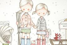 Artist - Celine Bonnaud / French illustrator
