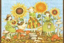 Artist - Debbie Mumm / Artist, quilt designer, and home decorator for over 20 years