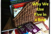 Five In A Row / Activities and supplements for Five In A Row / by Bethany Brown