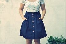 Sew-Skirts / Skirt Sewing Patterns and Skirt Inspiration / by Brantlea Newbery