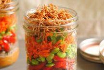 eat m e: Put a . lid . o n . i t! / Food in mason jars. Ball jars. Canning jars. Jars. / by Jodi B. Loves Books