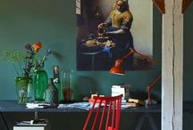 Interiors / Interesting and beautiful interiors