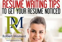 Resume Writing / Master a skill of writing an excellent resume and get the job of your dreams.