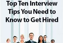 Job Interview Tips / Job interviews can be difficult. Be ready with our job interview tips.