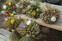 Mother's Day Gift Ideas / We grow natural wheat arrangements, here's a few rustic mother's day gift ideas