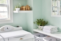 Bathrooms/Laundry Rooms / by Stubbornly Crafty