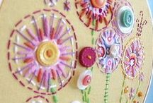 Crafts to make / Craft Inspiration {craft projects, sewing, painting}