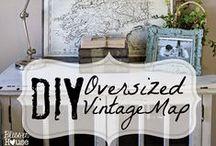 Dream Home: DIY Home Decor / Inspiration and DIY Home Decor Projects to make our house a Dream Home!