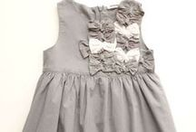 Neutral Savvy Gray - Girls Clothes  llbdshop / Designer dresses and clothing for little girls in shades of gray